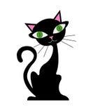 Gato de la historieta Imágenes de archivo libres de regalías