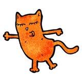 gato de la historieta Imagen de archivo