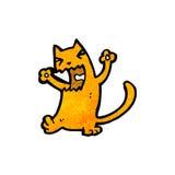 gato de la historieta Imagenes de archivo