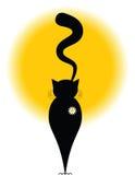Gato de la margarita libre illustration