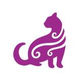 Gato de la vendimia Foto de archivo libre de regalías