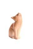 Gato de madeira imagens de stock royalty free