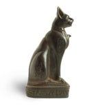Gato de piedra Foto de archivo libre de regalías
