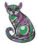 gato decorativo Imagen de archivo libre de regalías