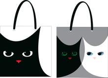 Gato del bolso Foto de archivo libre de regalías