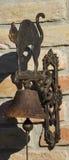 Gato del hierro Imagen de archivo libre de regalías