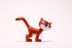 Gato del juguete Imágenes de archivo libres de regalías