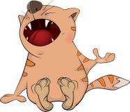Gato. Dibujos animados Foto de archivo