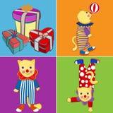 Gato do circo Imagens de Stock