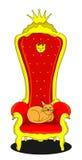 Gato do rei Imagens de Stock Royalty Free