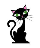 Gato dos desenhos animados Imagens de Stock Royalty Free
