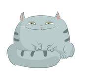 Gato dos desenhos animados Imagem de Stock Royalty Free