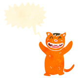 gato dos desenhos animados Fotos de Stock