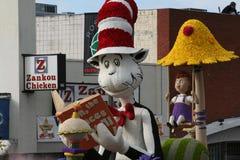 Gato en el sombrero Fotografía de archivo libre de regalías