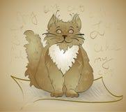 Gato gordo Fotografía de archivo