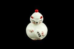 Gato, Japón, maneki, afortunado, neko, japoneses, foto de archivo libre de regalías