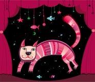 Gato mágico Fotos de archivo