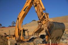 Gato-máquina escavadora Foto de Stock