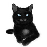 Gato negro Libre Illustration
