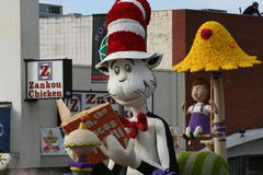 Gato no chapéu fotografia de stock royalty free