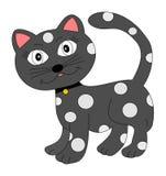 Gato pontilhado Imagem de Stock Royalty Free
