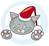 Gato santa ilustración del vector