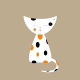 gato Tri coloreado libre illustration