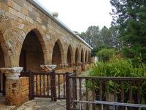 Gaton тонны nicolaos ажио монастыря в episkopi в Кипре стоковое фото rf