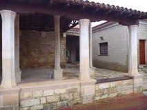 Gaton de tonne de Nicolaos d'agios de monastère dans l'episkopi en Chypre Photo libre de droits