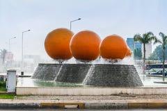 Gator av Antalya Arkivbilder