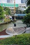 Gator av Bangkok. Royaltyfri Foto