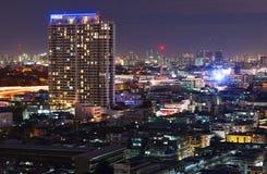 Gator av Bangkok Arkivbild