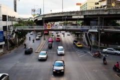 Gator av Bangkok Arkivfoto