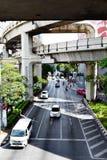 Gator av Bangkok Arkivfoton