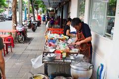 Gator av Bangkok Royaltyfri Foto