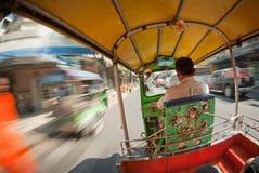 Gator av Bangkok, Thailand Arkivfoto