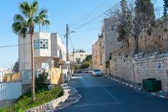 Gator av Betlehem Royaltyfri Bild