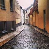 Gator av Braunschweig royaltyfri fotografi