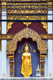 Gator av Chiang Mai Royaltyfria Foton