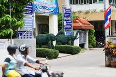Gator av Chiang Mai Arkivbild