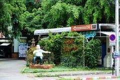 Gator av Chiang Mai Royaltyfria Bilder