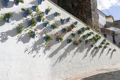 Gator av den gamla staden av Marbella, Andalusia Arkivbild