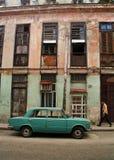 Gator av den La Habana Kuban royaltyfri fotografi