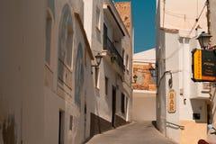 Gator av den lilla gamla staden Fotografering för Bildbyråer
