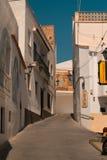 Gator av den lilla gamla staden Royaltyfria Bilder
