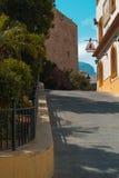 Gator av den lilla gamla staden Arkivbild