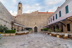 Gator av Dubrovnik den gamla staden arkivbilder