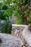 Gator av gamla Datca Arkivfoton