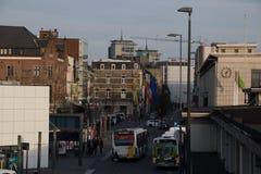 Gator av Hasselt, Belgien Royaltyfri Bild