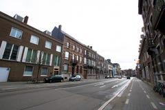 Gator av Hasselt, Belgien Arkivbild